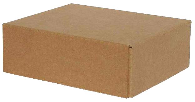 Картонная коробка с крышкой